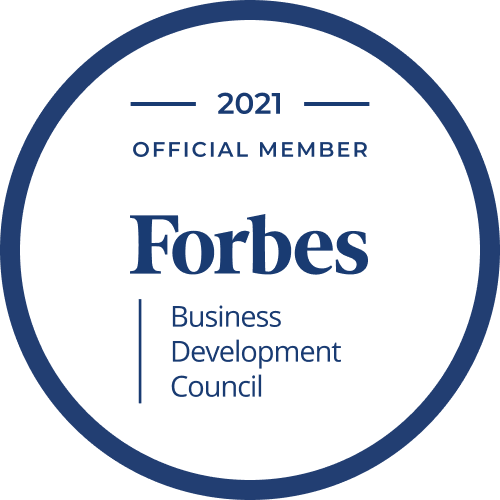 Forbes Business Development Council Official Member 2021
